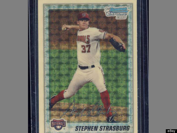 Stephen Strasburg Rookie Card Ebay Auction