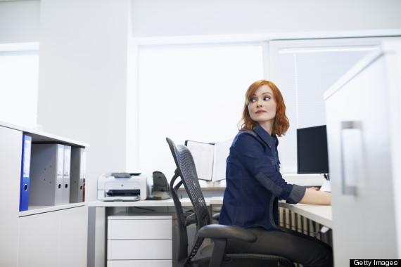 sitting desk