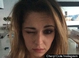 Cheryl Shares Her 'Flawless' Barefaced Selfie