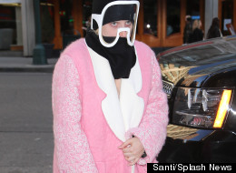 Lady Gaga Gives Us 'Marshmallow Chic' In New York
