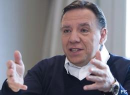 «Le PQ ne peut plus aspirer à gouverner», dit François Legault (ENTREVUE)