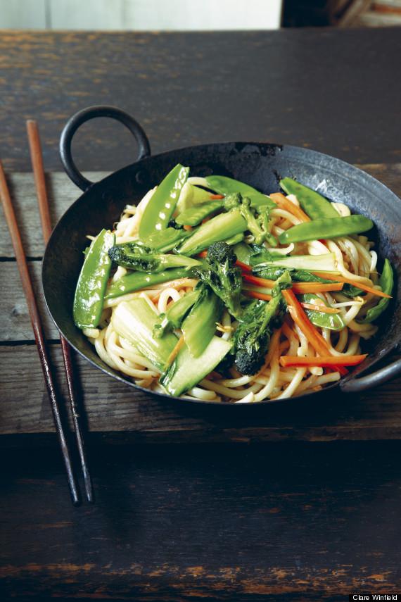 stirfried noodle veg