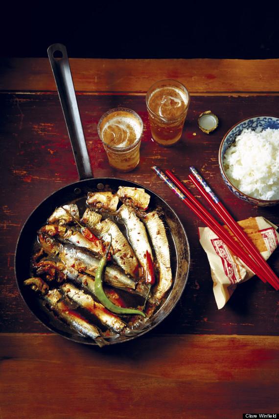 caramelized sardines