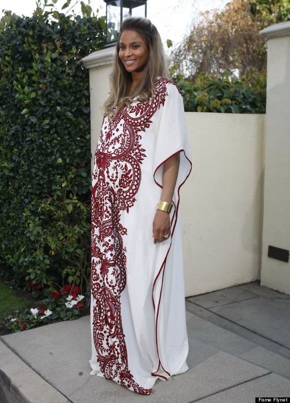 e9ed1be4b4e Kim Kardashian Celebrates Ciara s Baby Shower
