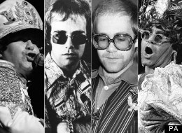 PICS: Happy Birthday Elton! We Celebrate With 67 Beautiful, Rare B&W Photos