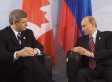 Harper Warns Canadian Companies Of 'Risks' In Russia As Tensions Escalate