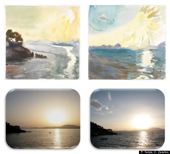 paintings earth atmosphere