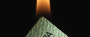 Canadian Money Burning