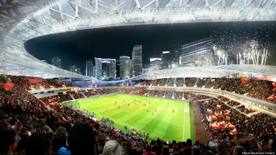 miami soccer stadium beckham port