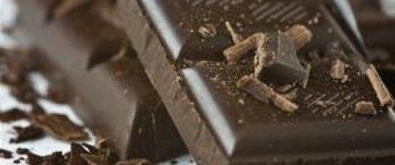 BLOCK OF DARK CHOCOLATE