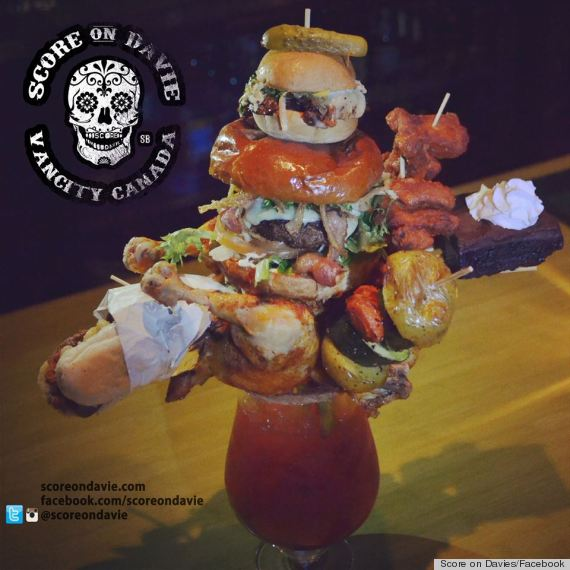This Bloody Mary Is Bonkers, And Comes Topped With Roast