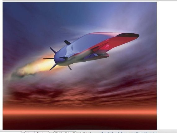 Waverider Hypersonic Flight