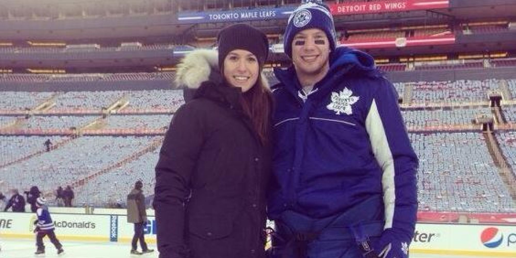 April Reimer Leafs Goalie S Wife Attacked On Twitter
