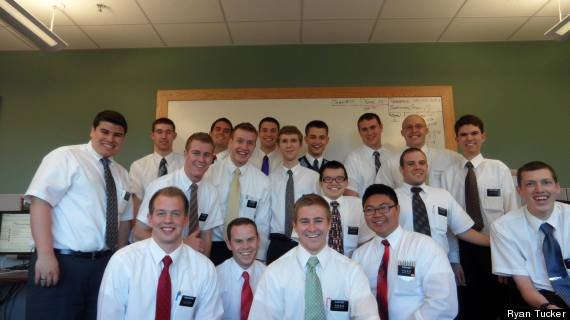 Missionaries at the Referral Center Mission.