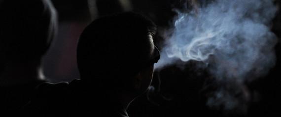 SMOKES MARIJUANA