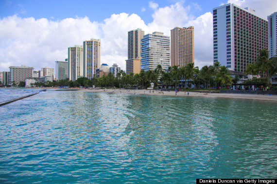 honolulu beach
