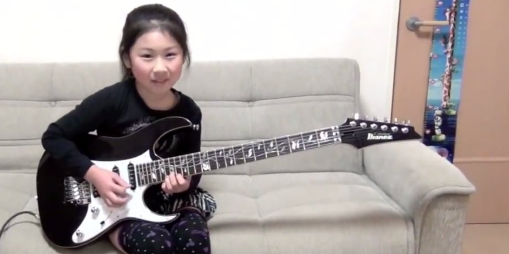 WATCH: Japanese Girl Shreds Guitar, Gender Stereotypes
