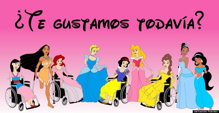 princesas disney discapacidad