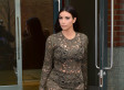 Kim Kardashian Wears Another See-Through Dress, Reveals North Peed On Kanye At Vogue Shoot