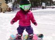 This 18-Month-Old Snowboarder Is Tearin' It Up On The Bunny Hill