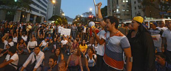 VENEZUELA PROTESTS STUDENT