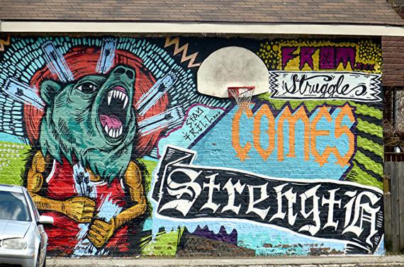 street artist chicago
