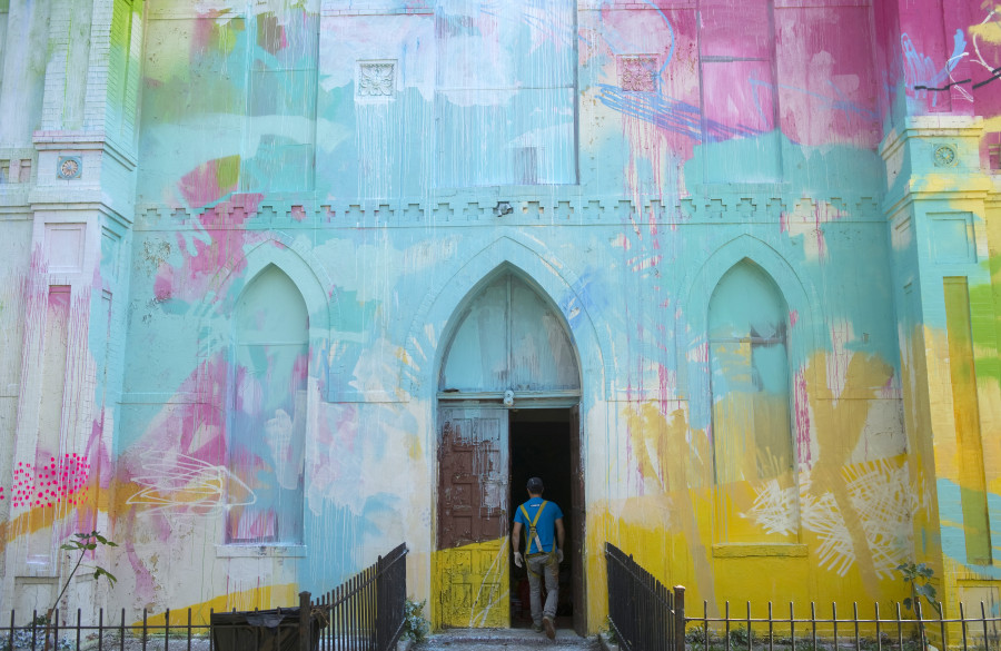 The 19 best cities to see street art in the united states for Atlanta mural artist