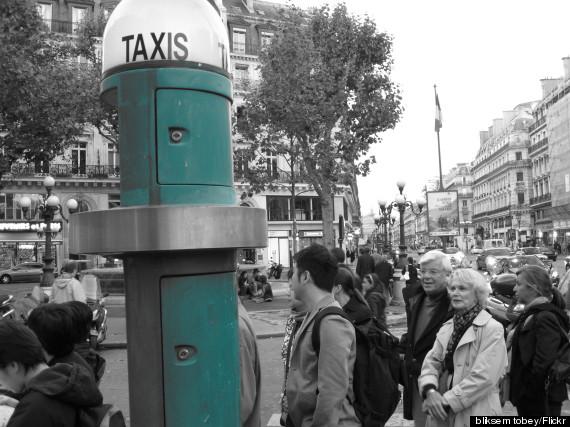 taxi stand paris