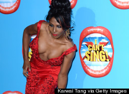 Sinitta Makes A Boob Of Herself At 'I Can't Sing' Premiere