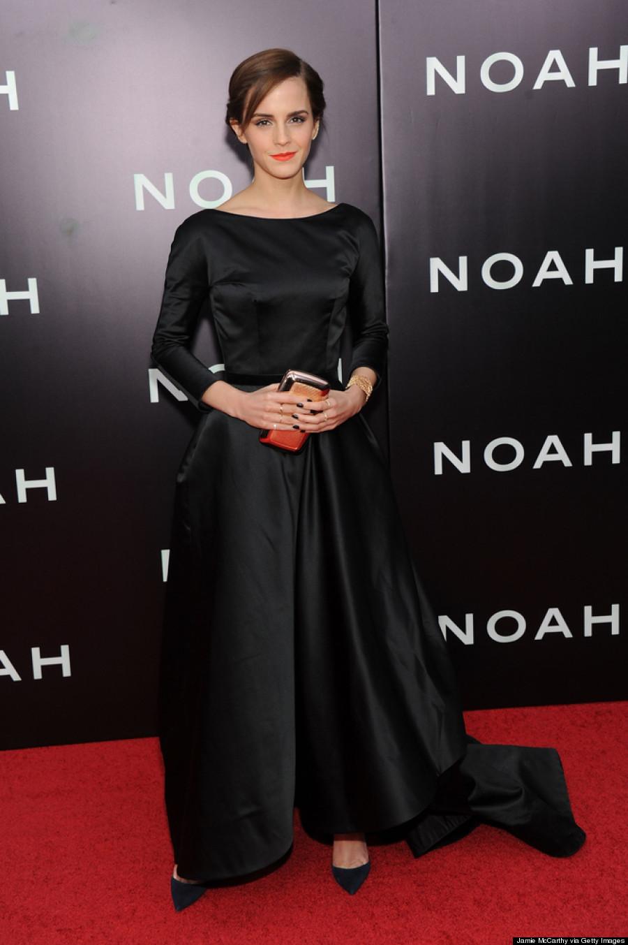 Emma Watsons Most Glamorous Look Yet In Oscar De La Renta PHOTOS