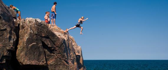 CLIFF JUMPING MICHIGAN