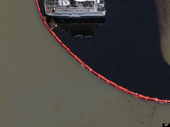 Hurricane Gulf Oil Spill