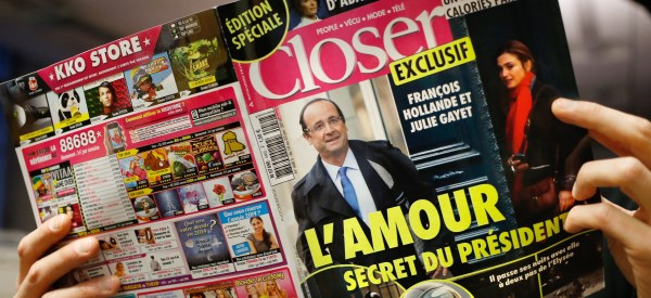 French Magazine Fined For Showing Scandalous Pictures Of The President