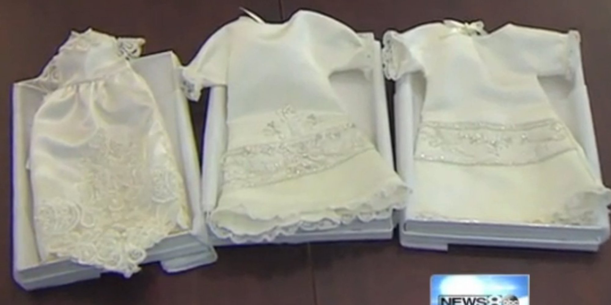 Woman turns wedding dresses into 39 angel gowns 39 for for Donate wedding dress military