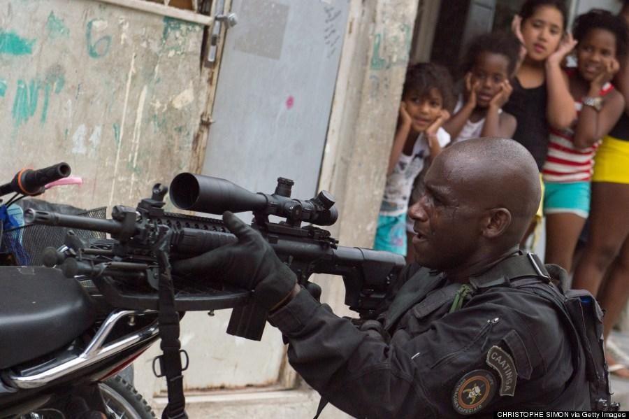 brazil favela
