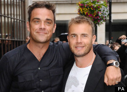 Gary Barlow Issues Robbie Williams With Ultimatum