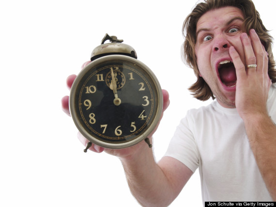 shouting clock