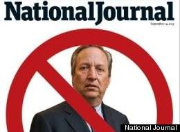 National Journal Owner Sides With Larry Summers Against His Own Magazine's Cover Story