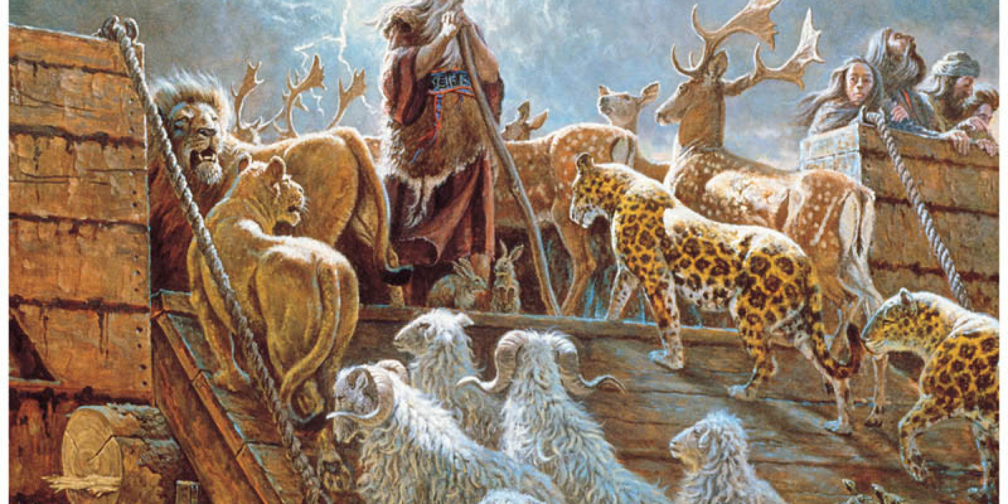 Quiz: How Well Do You Really Know the Story of Noah's Ark? | HuffPost