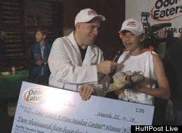 Little Girl With Big Stink Wins $2,500 With Her Rotten Sneakers