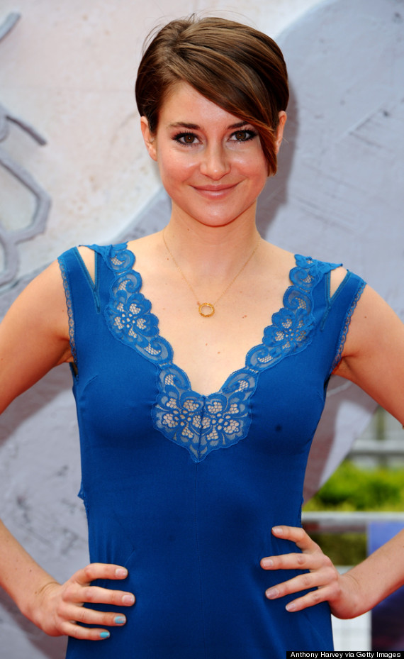 Shailene Woodley Wows On Divergent Red Carpet Makes Us Consider Eating Clay Huffpost