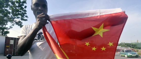 CHINA AFRICA FLAG