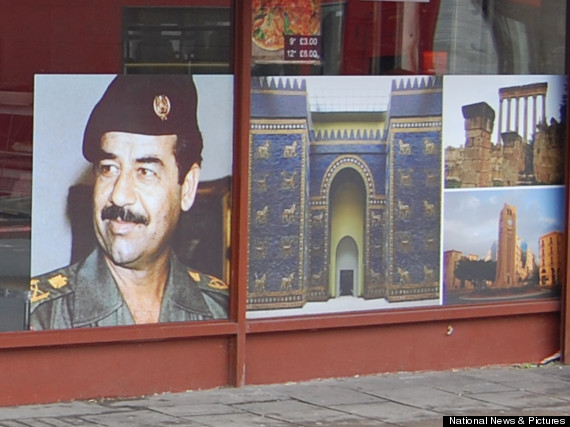 britain and american relationship with saddam