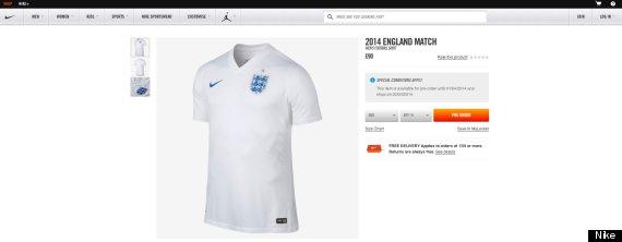 england world cup kit