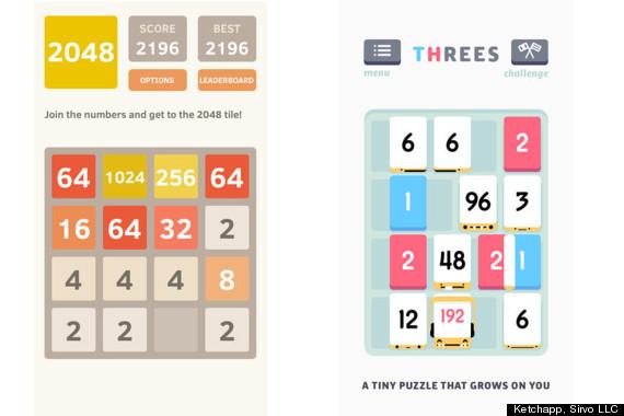 threes 2048
