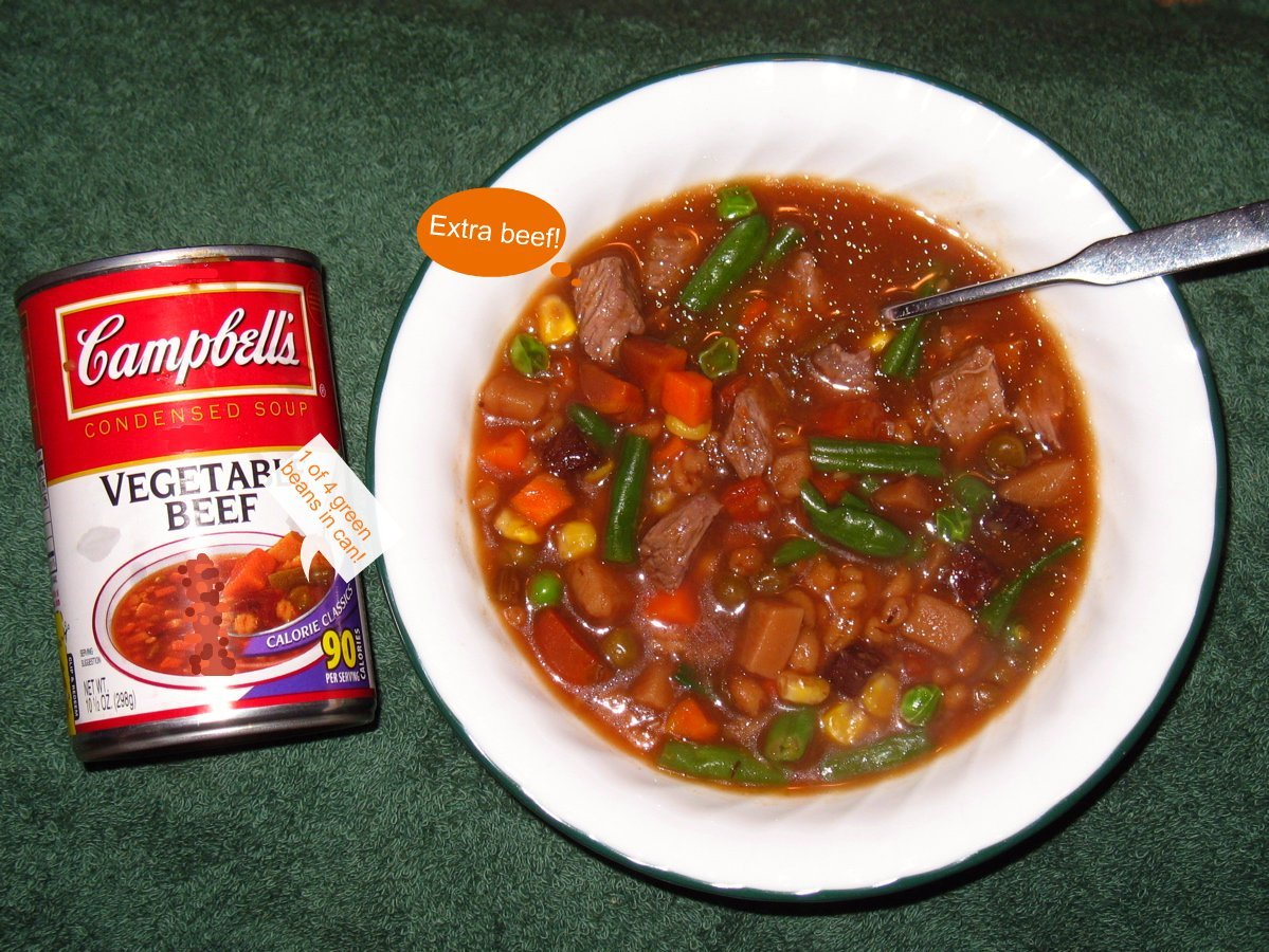 campbells beef vegetable soup