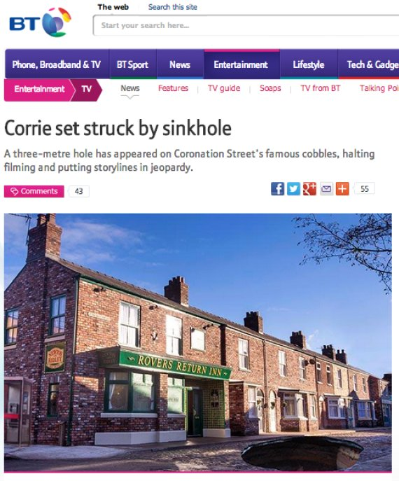 coronation street april fool