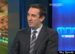 'It's Like Choosing Which Bloke To Nick Your Wife' - Neville On Liverpool And City's Title Tilts (VIDEO)