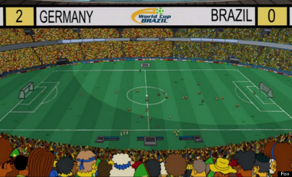 the simpsons world cup