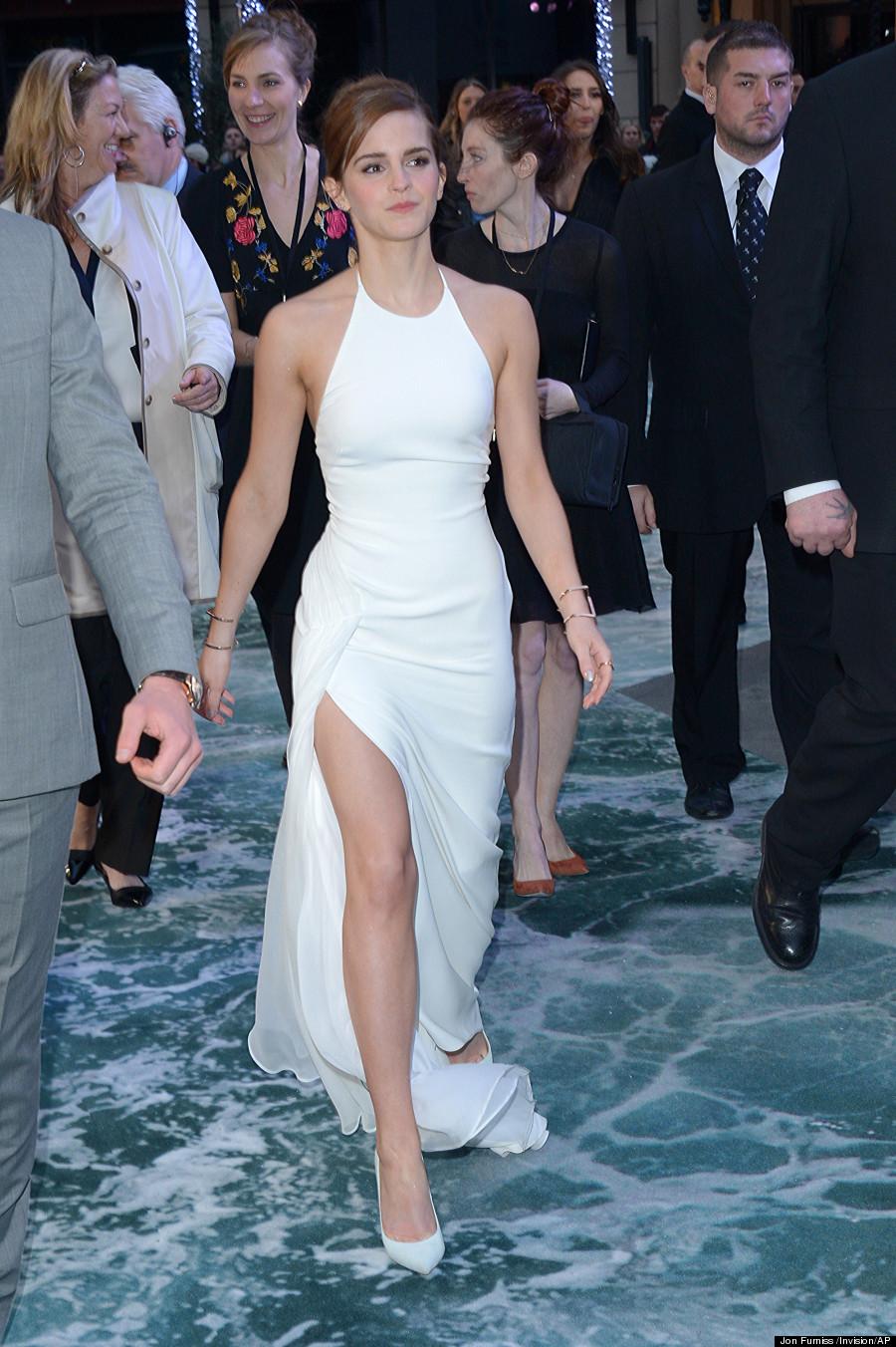 White dress emma watson - Emma Watson